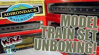 Adirondack Scenic Railroad Model Train Unboxing