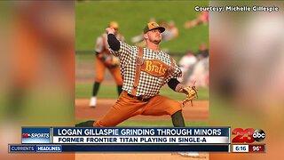 Logan Gillaspie talks about minor league journey