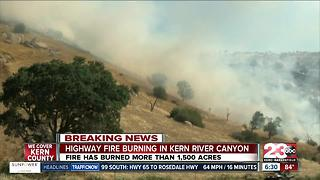 """""""The Highway Fire"""" updates in Kern County"""