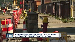 Business owners working to keep customers during construction on Livernois