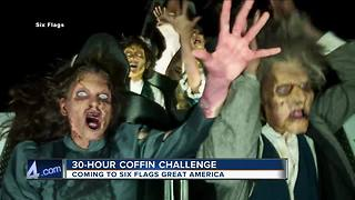 30-hour coffin challenge coming to Six Flags Great America