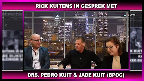 Rick Kuitems in gesprek met pastor - drs. pedro kuit & jade kuit
