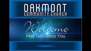 Oakmont Community Church, Christmas Eve Service - Advertisement