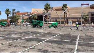 Building quarantine facility for Las Vegas homeless