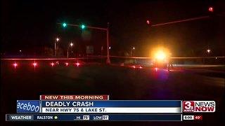 Deadly morning crash