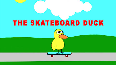 The Skateboard Duck