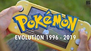EVOLUTION OF POKEMON GAMES 1996 - 2019