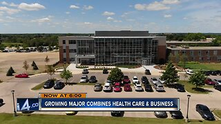Growing major at Concordia University combines health care and business
