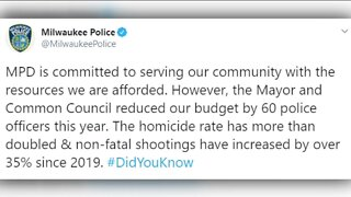 Police, Common Council president spar over tweet discussing MPD's budget