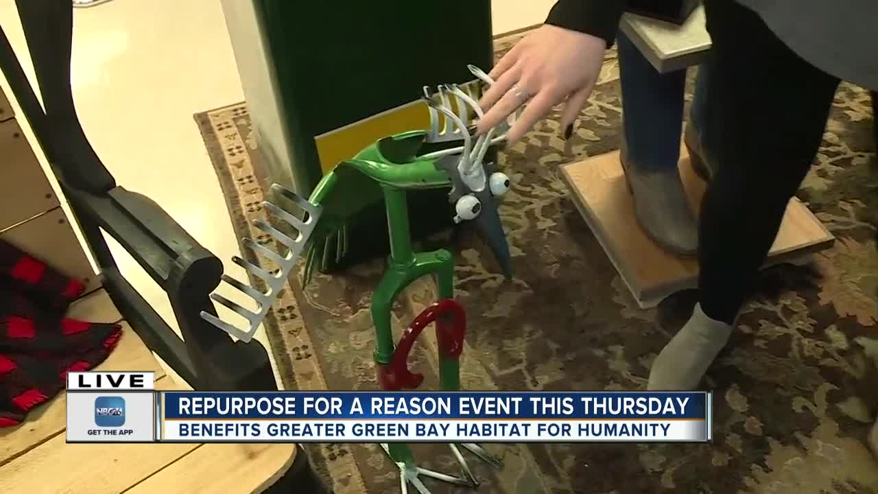 Repurpose for a reason for Habitat for humanity