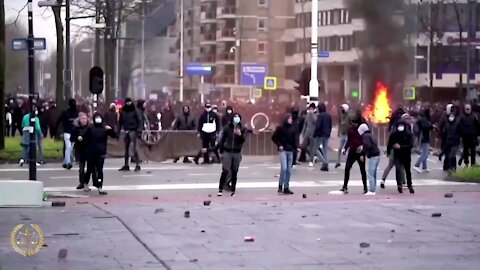 The Netherlands: Protests Against Curfew Turned Into Riots And Looting This Week