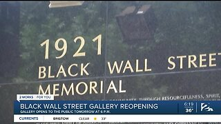 Black Wall Street Gallery reopening