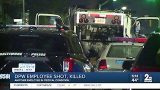 DPW employee shot and killed