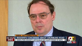 Crumbling road concerns North Bend residents