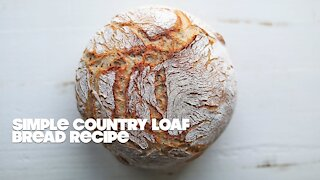 How to Make a Homemade Artisan Bread Recipe   Seriously the Best Bread Recipe Ever!