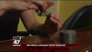 New medical marijuana testing guidelines