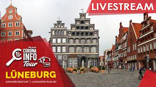 Lüneburg Live - Polizei besteht auf Masken - aber nur im Stehen...