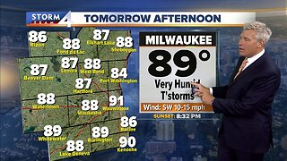 More showers possible Wednesday morning