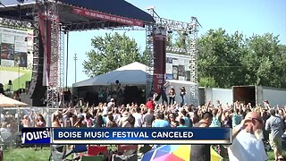 Boise Music Festival canceled this year