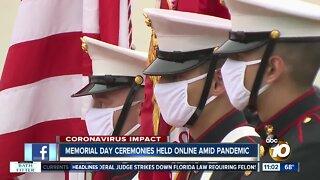 San Diego Memorial Day ceremonies go virtual amid pandemic