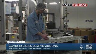 Governor Ducey updates state on coronavirus