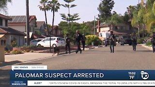 Palomar suspect arrested