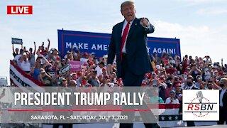President Trump's FULL HD SPEECH from Save America Rally in Sarasota FL 7/4/21