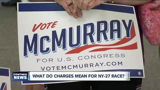 """Collins challenger McMurray """"confident"""" after charges against Congressman---5:30"""