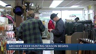 Archery deer hunting season begins in Michigan