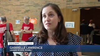 Gabrielle Lawrence, President of the Lansing School District Board