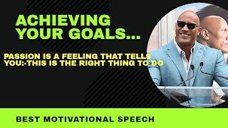 Achive your goals best motivational speech/video
