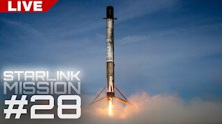 SpaceX Starlink Launch #28