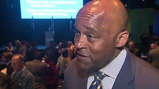 Denver Mayor Michael Hancock says mayoral race appears headed to runoff