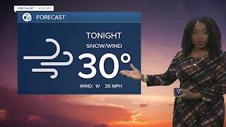 7 First Alert Forecast 6 p.m. Update, March 28