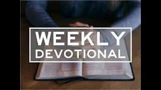 Weekly Devotional With Pastor Anthony, Proverbs 22:3