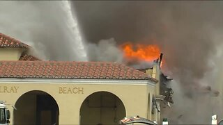 911 calls released in Delray Beach train station fire