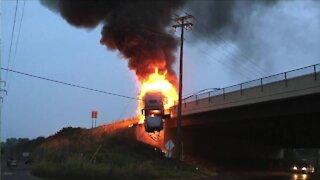 Buffalo Hero recalls fiery tractor crash in West Seneca