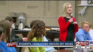 Studens, legislators discuss key education issues