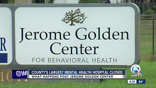 Palm Beach County's largest mental health hospital has closed