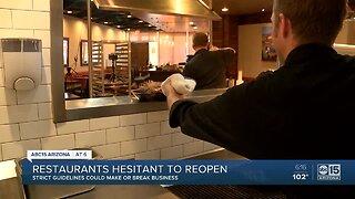 Valley restaurants hesitant to reopen