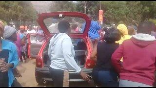 SOUTH AFRICA - Pretoria - Gomorrah Informal Settlement Protest (video) (qRw)