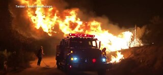CA firefighters continue to battle wildfires