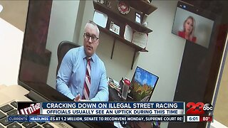Law Enforcement on Illegal Street Racing