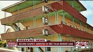 Second Suspect Arrested in 1983 Tulsa Murder Case