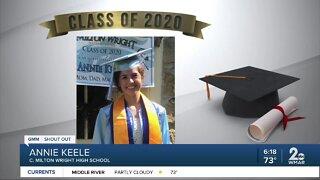 Class of 2020: Annie Keele
