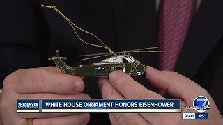 White House Christmas ornament honors Eisenhower