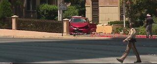 Teen dead after crash on Las Vegas Blvd.