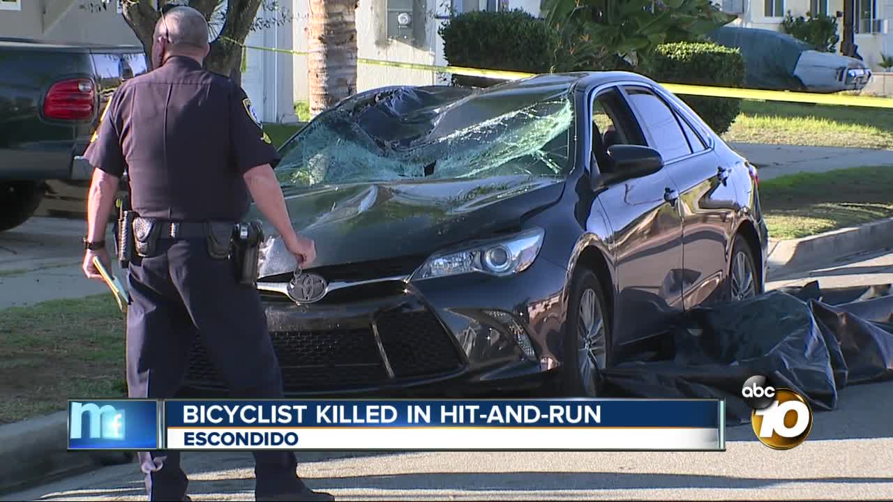 Bicyclist killed in hit-and-run crash