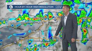 7 First Alert Forecast 5am Update, Tuesday, June 8