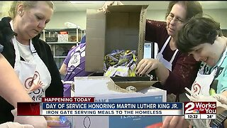 TARC volunteers at soup kitchen on MLK Day of Service